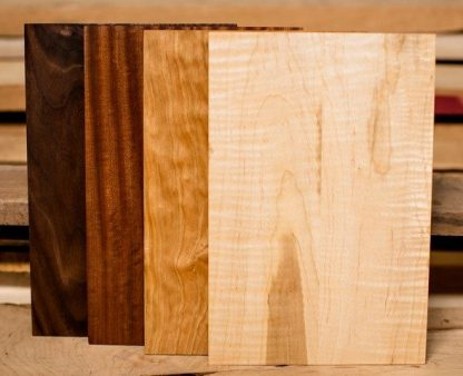 cheese board collection in walnut, mahogany, cherry and figured maple
