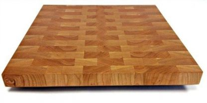 large cherry butcher block, end grain