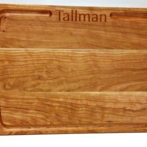 cherry chefs board with personalization