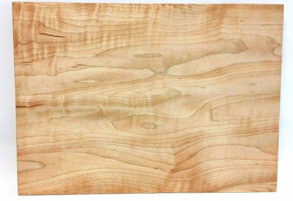 Figured maple cheese board hardenbrook hardwoods