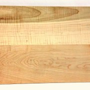 daily use cutting board in figured maple