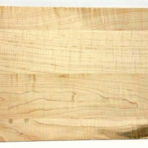 figured maple veggie cutting board