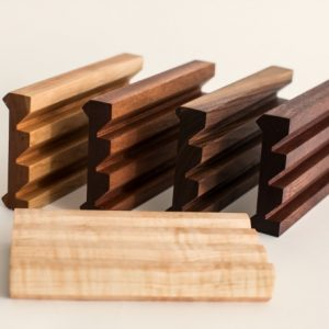 profile of stands for Trio set of cutting boards