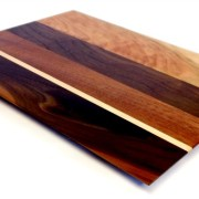 walnut and maple veggie board