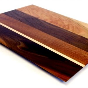 walnut and maple veggie board