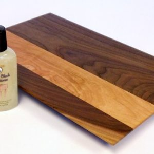 walnut and cherry cheese cutting board