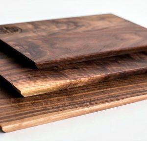 Trio cutting board profile view