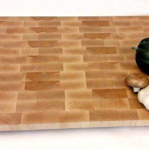 Large end grain maple butcher block