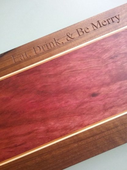 engraved board, with handles