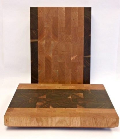 cherry and walnut butcher blocks
