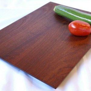 mahogany veggie board