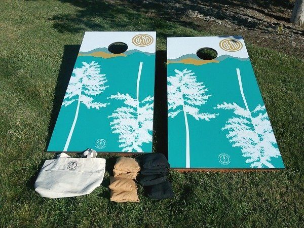 BEND Corn Hole Set (trees)