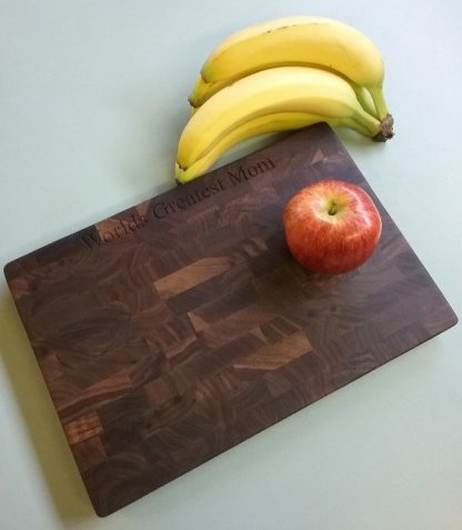 endgrain, walnut, medium cheeseboard, butcher block
