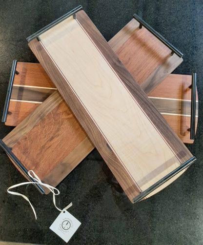 Hardwood serving board